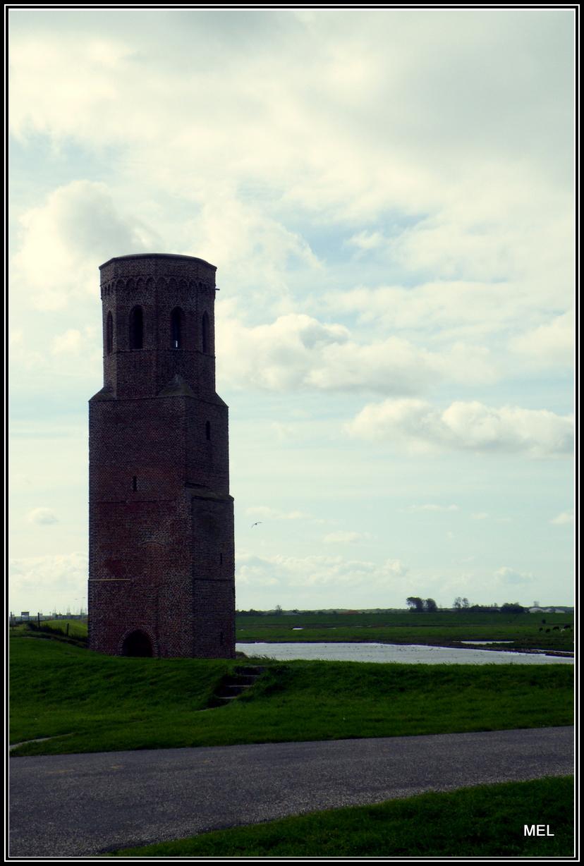 Plompe Toren In Zeeland