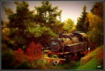 Alte Lokomotive in Konz